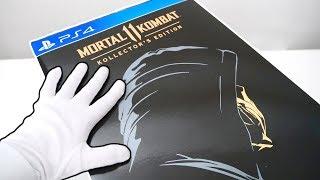 Mortal Kombat 11 Kollector's Edition Unboxing (Scorpion Mask) Original Mortal Kombat + Bonus