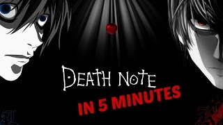 COMPLETE DEATH NOTE IN 5 MINUTES | COMICBOOK MINUTE