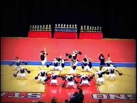 Clovis East High School Song/Pom 2005 (Competition Pep)