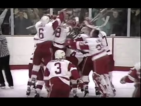 Miami v. Michigan 1993 ice hockey: overtime game-winner