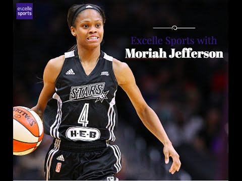 Moriah Jefferson talks to Excelle Sports in Dallas
