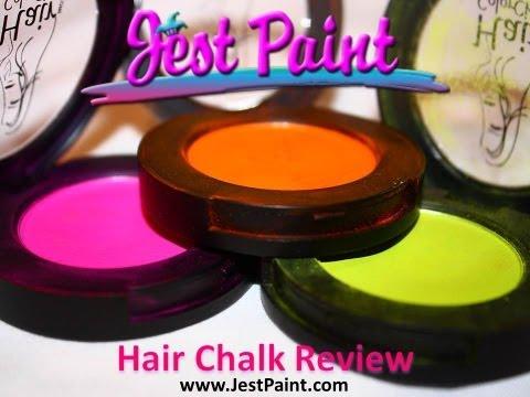 Reseña de Tiza para el cabello por JestPaint.com