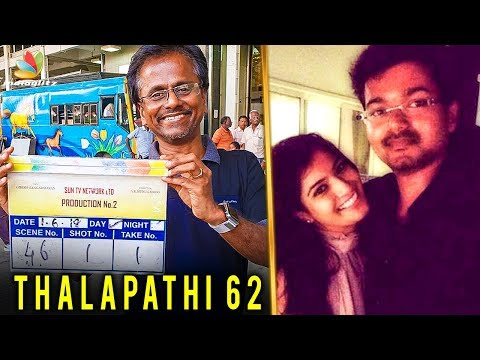 Varalakshmi & Vijay Join Together at Chennai Airport | Thalapathy 62 Shooting | A.R.murugadoss