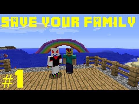 Minecraft Save Your Family #1 [ARABIC] ماينكرافت: أنقذ عائلتك #1