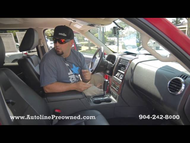 Autoline Preowned 2010 Ford Explorer Limited For Sale Used Walk Around Review Jacksonville
