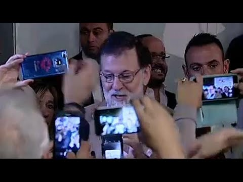 Catalan crisis: Spain's Rajoy in Catalonia for first visit since direct rule