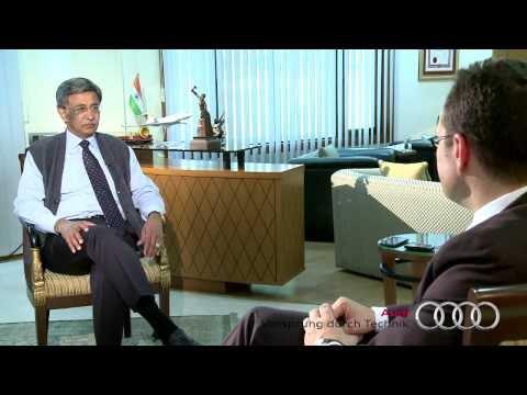 Audi India in Conversation With Baba Kalyani