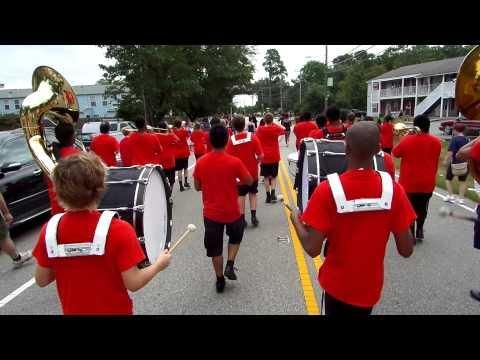 Denbigh High School Patriots Marching Band, Denbigh Days Parade 9-20-00 (3)