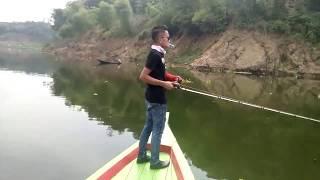 Casting Toman (snakehead)Cirata,saya yakin Anda akan me REPLAY video ini lagi!!by arif black pb