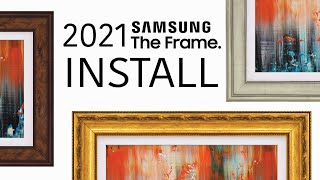 02. How to install Samsung The Frame 2021