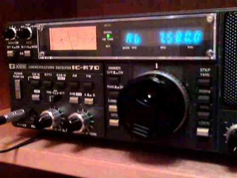 Voice of Korea Japanese service on 7580 KHz