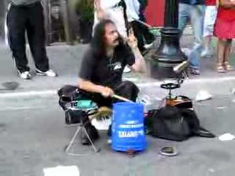 Crazy Drummer in Ottawa