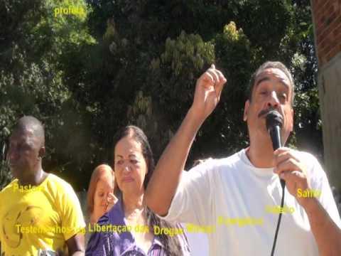 Testemunhos  e Libertaçao de Drogas  Missao Evangelica Celeiro Santo