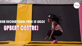 The BIGGEST TRAMPOLINE PARK IN West Africa - UPBEAT CENTRE | The Fisayo