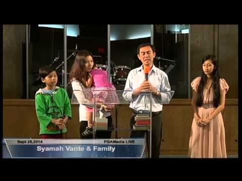 Syamah Van Te & Family @ FGATulsaSept 28,2014