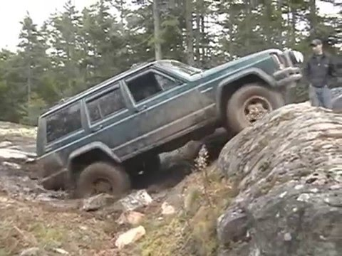 Trever's Jeep XJ on High Voltage Trail Video