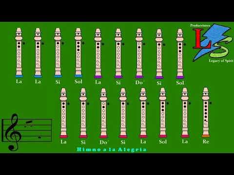 Cinco Canciones Faciles para Flauta Dulce + Notas Explicadas
