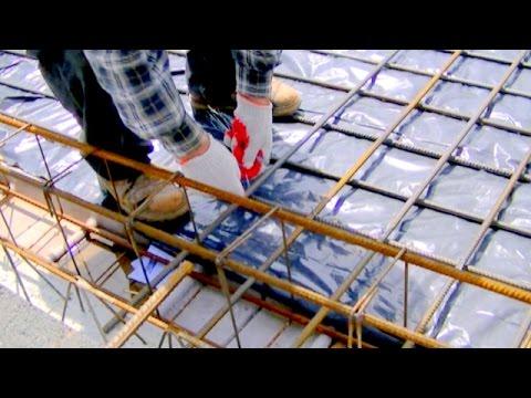Budowa domu krok po kroku. Dzień 40-43 Zbrojenia stropu. www.durski-domy.pl