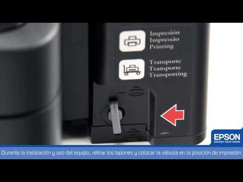 Impresora Multifuncional Epson con Tanque de Tinta L350