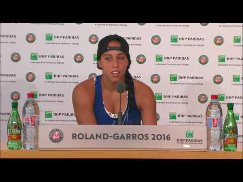 French Open 2016: Madison Keys Round 4 Post Match Interview