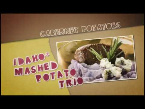 Idaho Mashed Potato Trio