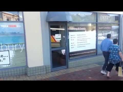 Timaru Tourism is not working - Ron E Bishop Timaru NZ