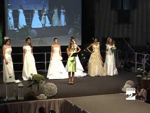 Clusone Melita Toniolo presenta sfilata moda Antenna 2 TV 200811