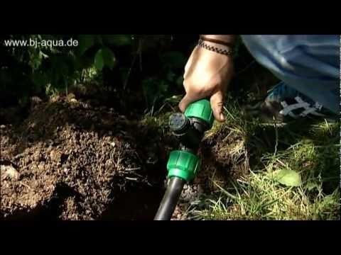 BJ Versenkregnerset, Rasen Bewässern, Gartenbewässerung Mit Www.bj-aqua.de