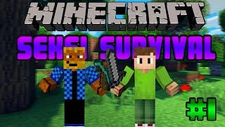 Minecraft-Seksi Survival-Bölüm1-Efe Çarpılırken...