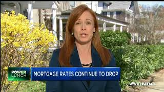 Mortgage Rates See Their BIGGEST DECLINE in a DECADE! CNBC reports.