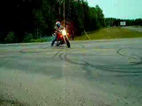 1982 nighthawk 750 burnout Video