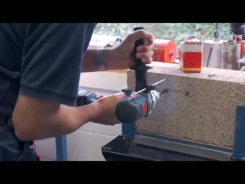 Bosch GSB18VE2Li 18V Cordless RobustSeries Combi Drill from Toolstop