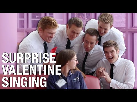 Surprise Valentine's Singing