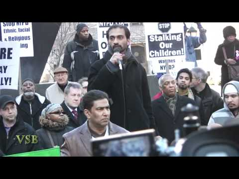 THE MUSLIM UMMA (Anti- NYPD) Rally IN NYC - Part 1