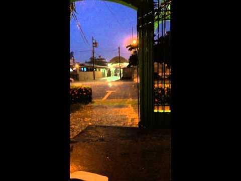 Rain in Jaco