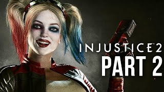 INJUSTICE 2 - Story Mode #2 The Girl Who Laughs (Harley Quinn)