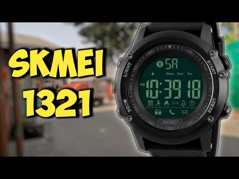 SKMEI 1321 Smartwatch from China - Unboxing Review Indonesia