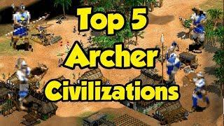 Top 5 Archer Civilizations in AoE2