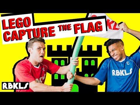 LEGO Capture the Flag FACE-OFF - REBRICKULOUS