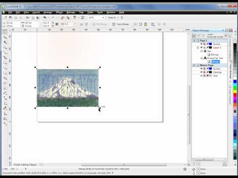 Practical CorelDraw x5 - PowerClipping