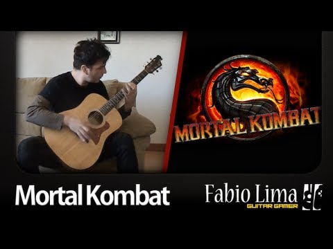 Mortal Kombat Theme on Acoustic Guitar by GuitarGamer (Fabio Lima)