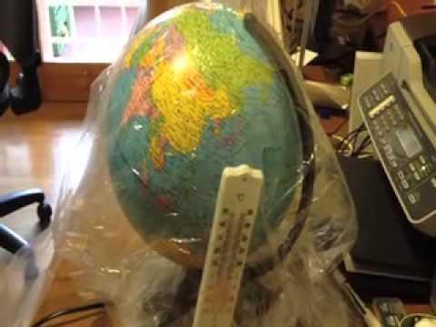 Effetto serra - Efficace esperimento per capire meglio il fenomeno