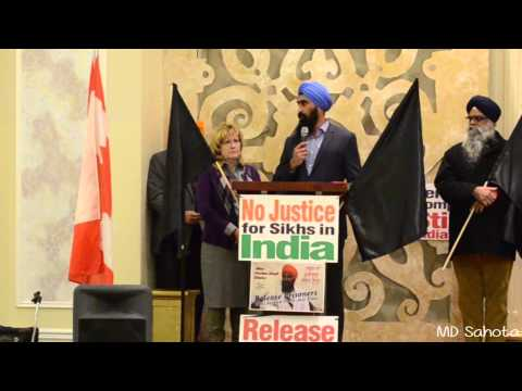 Punjabi Post-Linda Jeffrey and Gurpreet Dhillon at Bhai Gurbaksh Singh Event