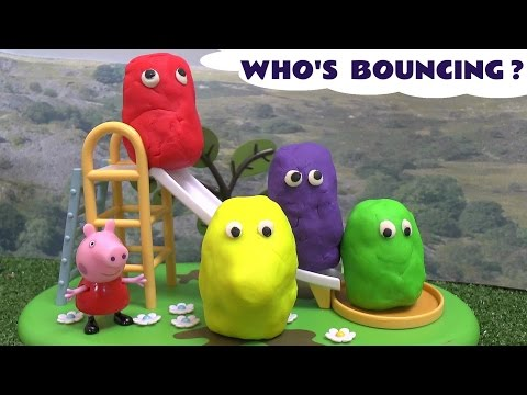 Peppa Pig Play Doh Surprise Egg Thomas And Friends Huevo Sorpresa Playdough Hello Kitty Episode video