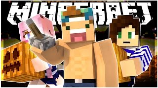 FIND THE BUTTON HALLOWEEN EDITION! w/ STACYPLAYS & LDSHADOWLADY | Minecraft