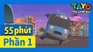Tayo Phần1 Tập1-5 biên soạn l Tayo xe buýt bé nhỏ l Phim hoạt hình cho trẻ em