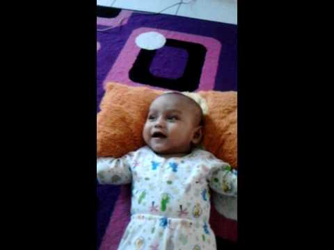My baby Ali ketawa ngakak