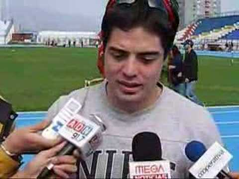 Kael Becerra, velocista chileno
