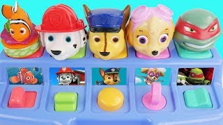 Learning Colors for Kids with Paw Patrol Skye & Chase, Shimmer and Shine Mickey Mouse Minnie Bubbles
