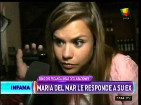 Apareció un ex novio de María del Mar y la destrozó a ella y su familia